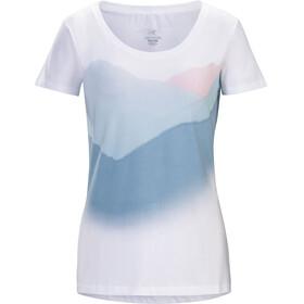 Arc'teryx Amidst - Camiseta manga corta Mujer - azul/blanco